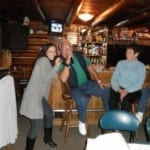 Karaoke singers at the bar